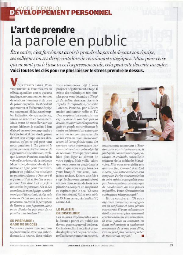 Maxxivoice La Presse En Parle